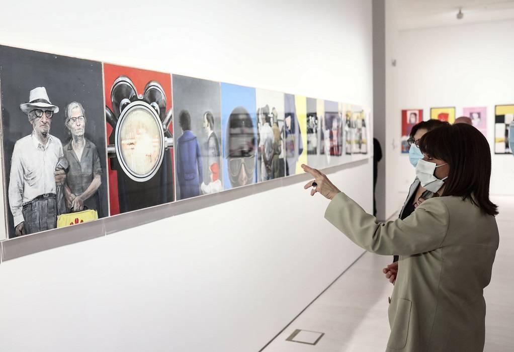 Επίσκεψη ΠτΔ στο Εθνικό Μουσείο Σύγχρονης Τέχνης