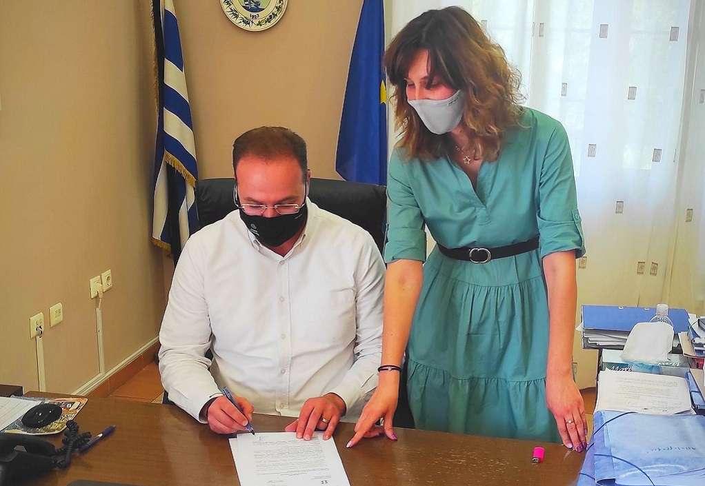 Αναβάθμιση της πυροπροστασίας στα σχολεία του Δήμου Αριστοτέλη