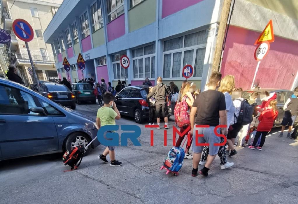 Θεσσαλονίκη: Με self test και μάσκες η επιστροφή στα σχολεία (ΦΩΤΟ)
