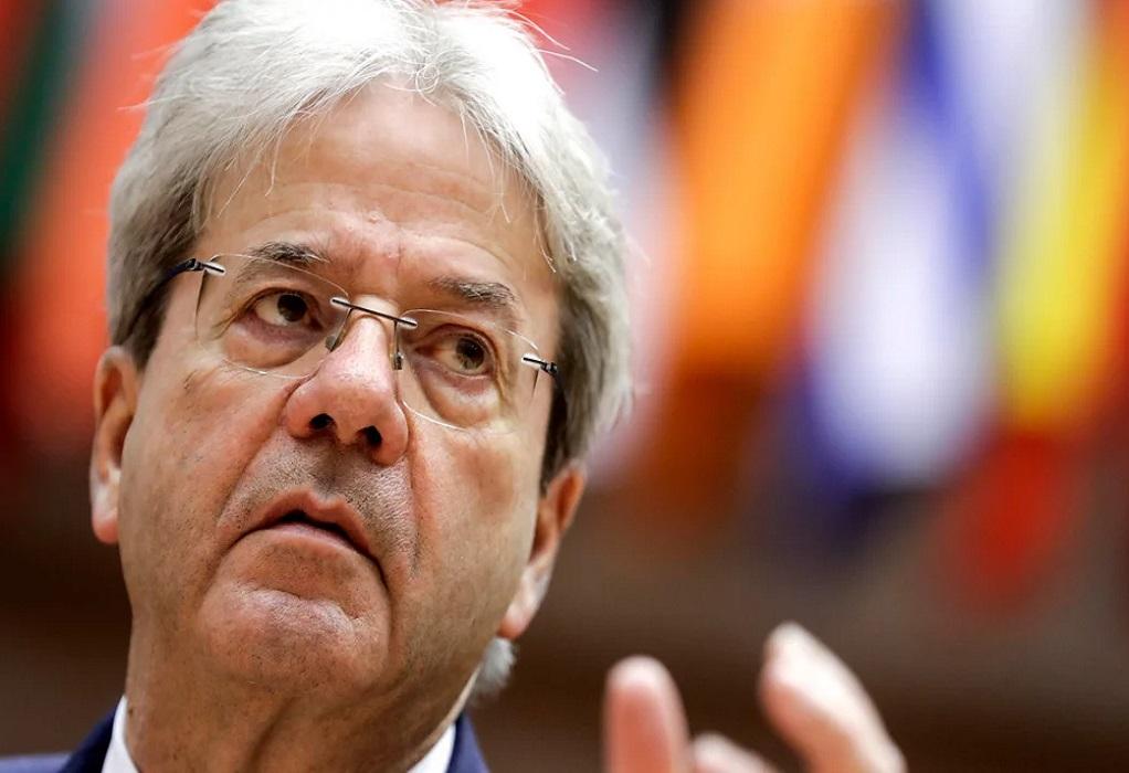 Τζεντιλόνι: Τον Ιούλιο η προκαταβολή για το Ελληνικό Σχέδιο Ανάκαμψης