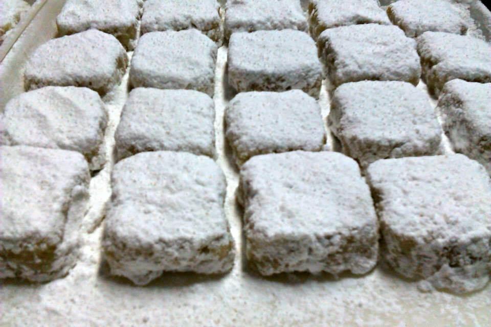 Υδραίικος ζαχαρομπακλαβάς από τον Οίκο Αμυγδαλωτών Τσαγκάρη