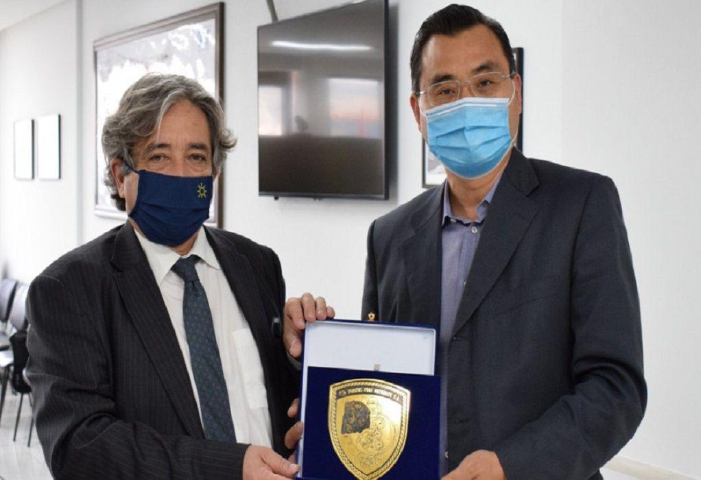 Στο λιμάνι του Πειραιά ο υπουργός Ναυτιλίας της Πορτογαλίας