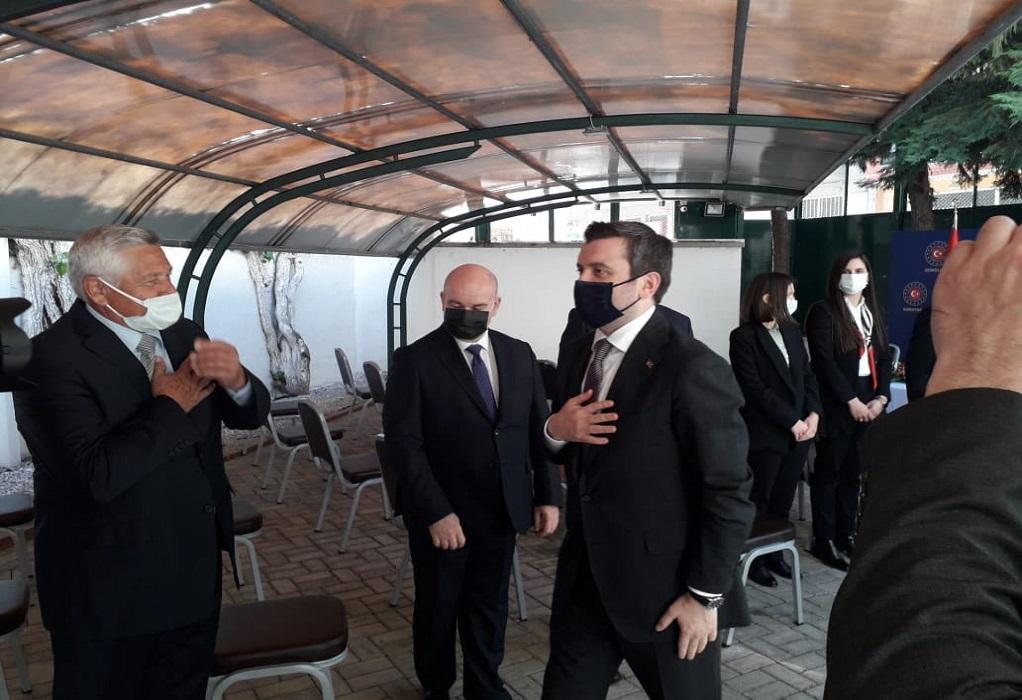 Στην Κομοτηνή ο Τούρκος Υφυπουργός Εξωτερικών