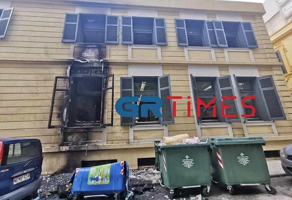 Θεσσαλονίκη: Επίθεση με γκαζάκια στο Γερμανικό Ινστιτούτο (ΦΩΤΟ-VIDEO)