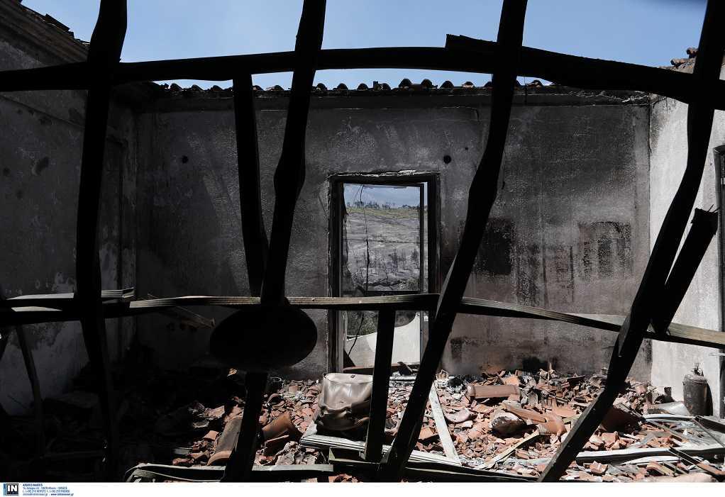 Κυβερνητικό κλιμάκιο στο Αλεποχώρι για την αποτίμηση των καταστροφών
