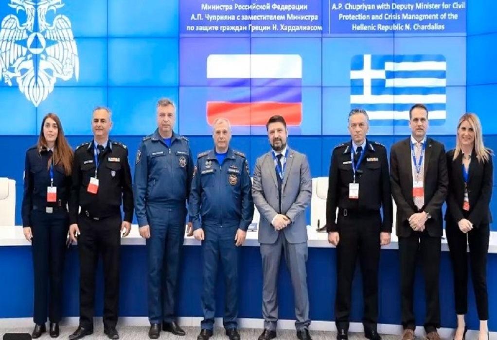 Ρωσία: Συνάντηση Χαρδαλιά με τον ομόλογό του για ενίσχυση της διμερούς συνεργασίας