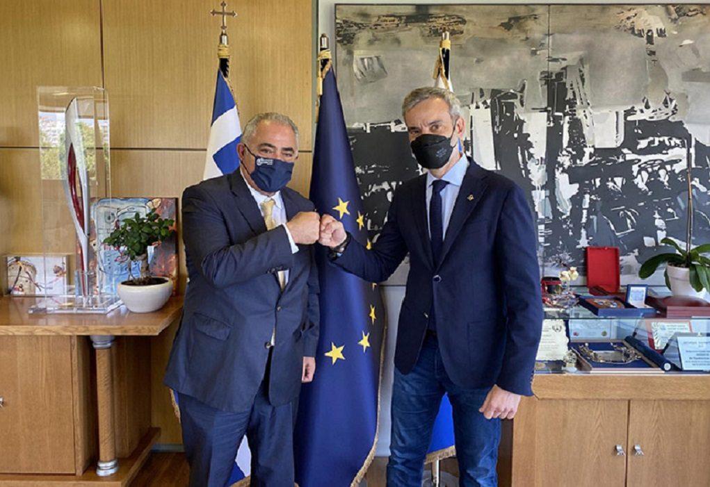 Συνάντηση Γ. Χατζηθεοδοσίου με τον Δήμαρχο Θεσσαλονίκης Κ. Ζέρβα