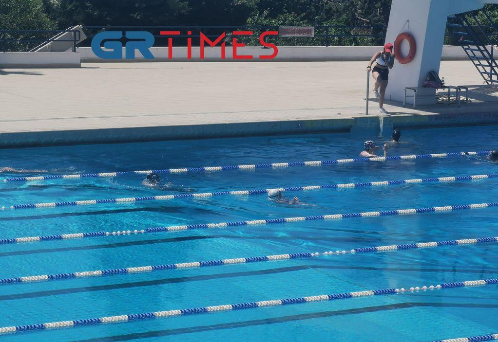Θεσσαλονίκη: Με κανόνες και αισιοδοξία η επιστροφή στα κολυμβητήρια (VIDEO)