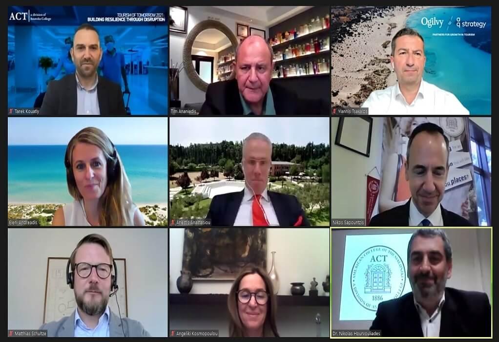 ACT – Ημερίδα: Ο ελληνικός τουρισμός θα επανέλθει από το τέλος του… 2023
