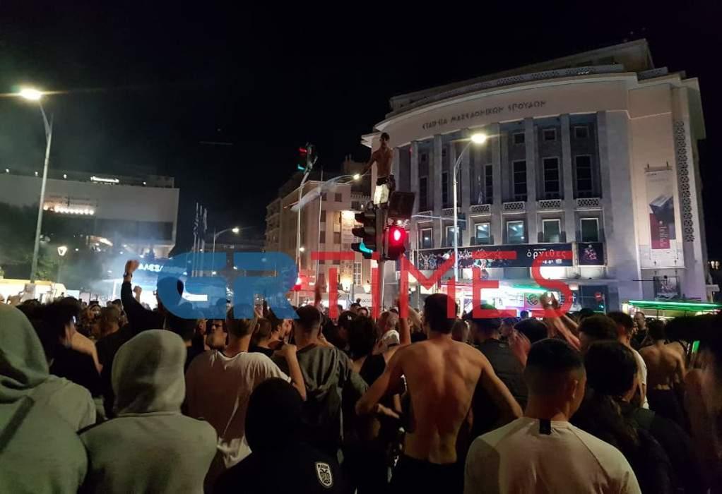 Επεισόδια ανάμεσα σε οπαδούς του ΠΑΟΚ και Αστυνομία