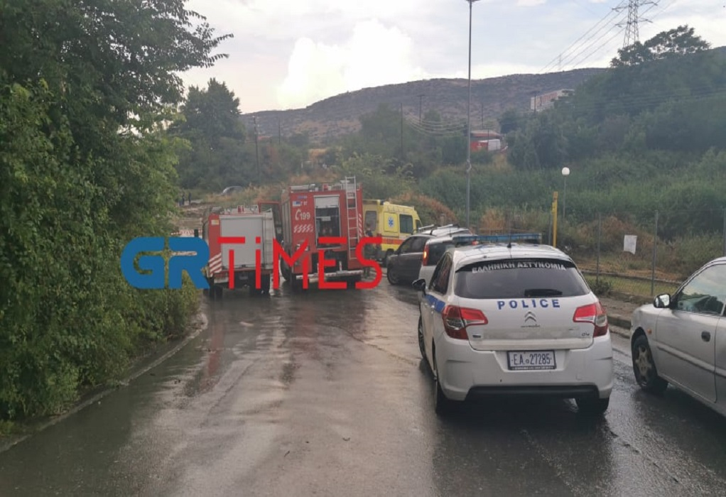 Θεσσαλονίκη: Ένας νεκρός από την κακοκαιρία στην Πολίχνη (ΦΩΤΟ-VIDEO)