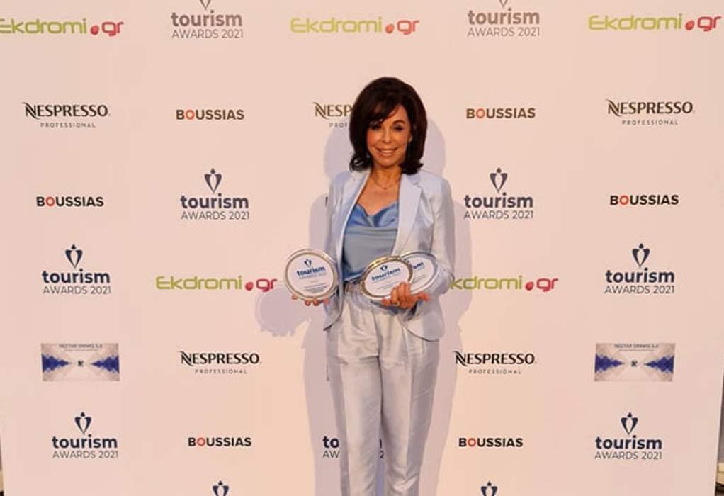 """""""Χρυσός"""" και """"αργυρός"""" ο Ο.Τ.Θ. στα Tourism Awards"""