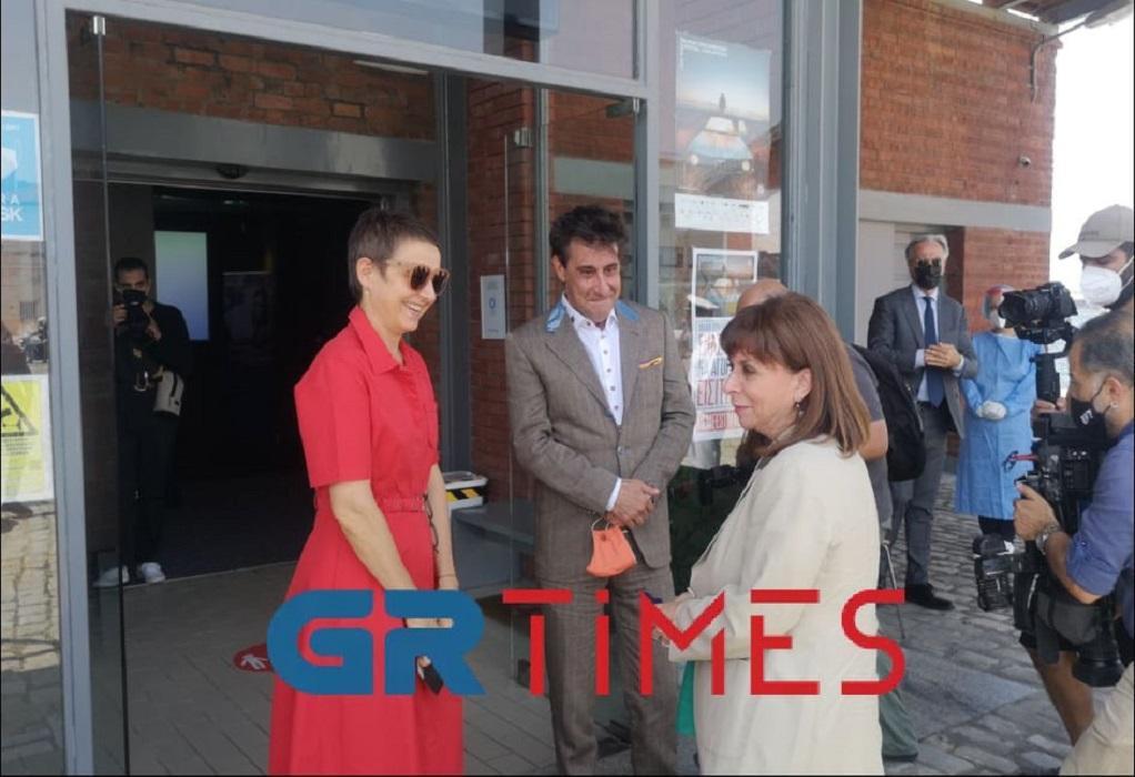 Στο Φεστιβάλ Κινηματογράφου Θεσσαλονίκης η Πρόεδρος της Δημοκρατίας (VIDEO)