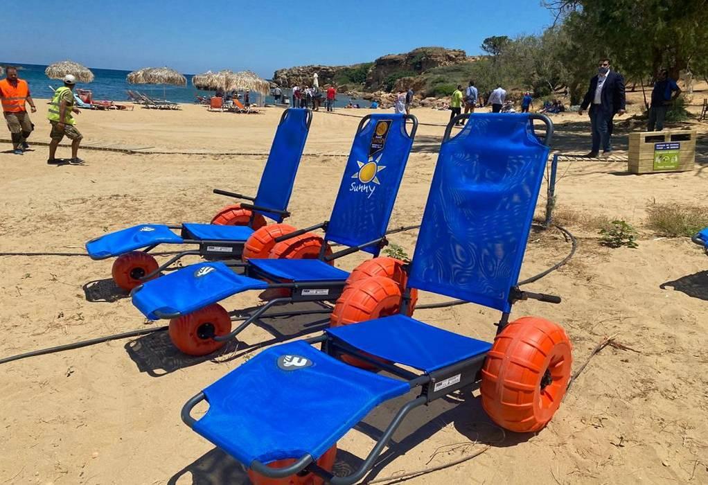 Χανιά: SeaTrac στις παραλίες για την αυτόνομη πρόσβαση ΑΜΕΑ