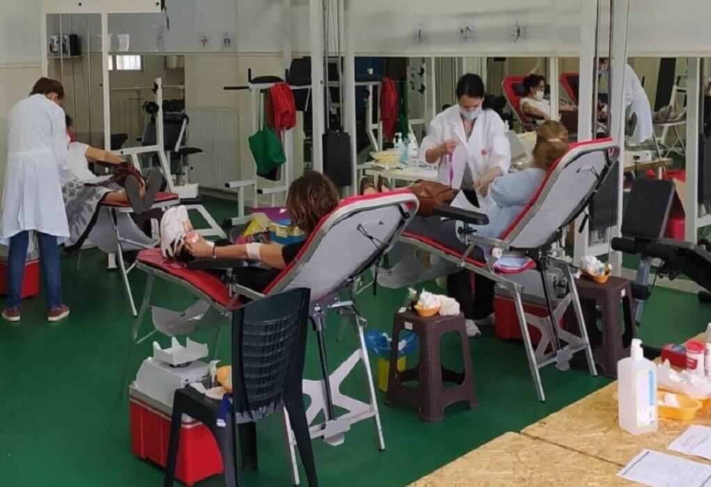 Δ. Νεάπολης-Συκεών: Επιπλέον 450 φιάλες αίμα από την εβδομάδα αιμοδοσίας