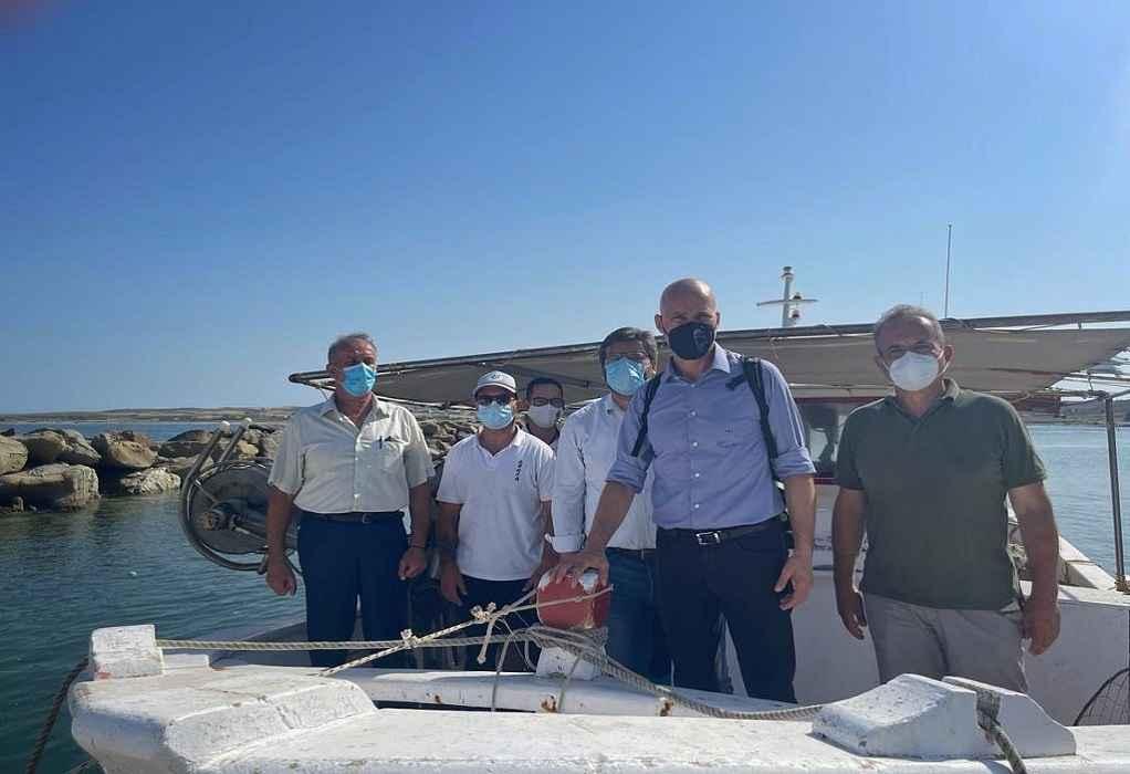Γ. Αμυράς: «Οι παραλίες της Λήμνου έχουν καθαρίσει – Το θαλάσσιο οικοσύστημα παραμένει ανέπαφο»