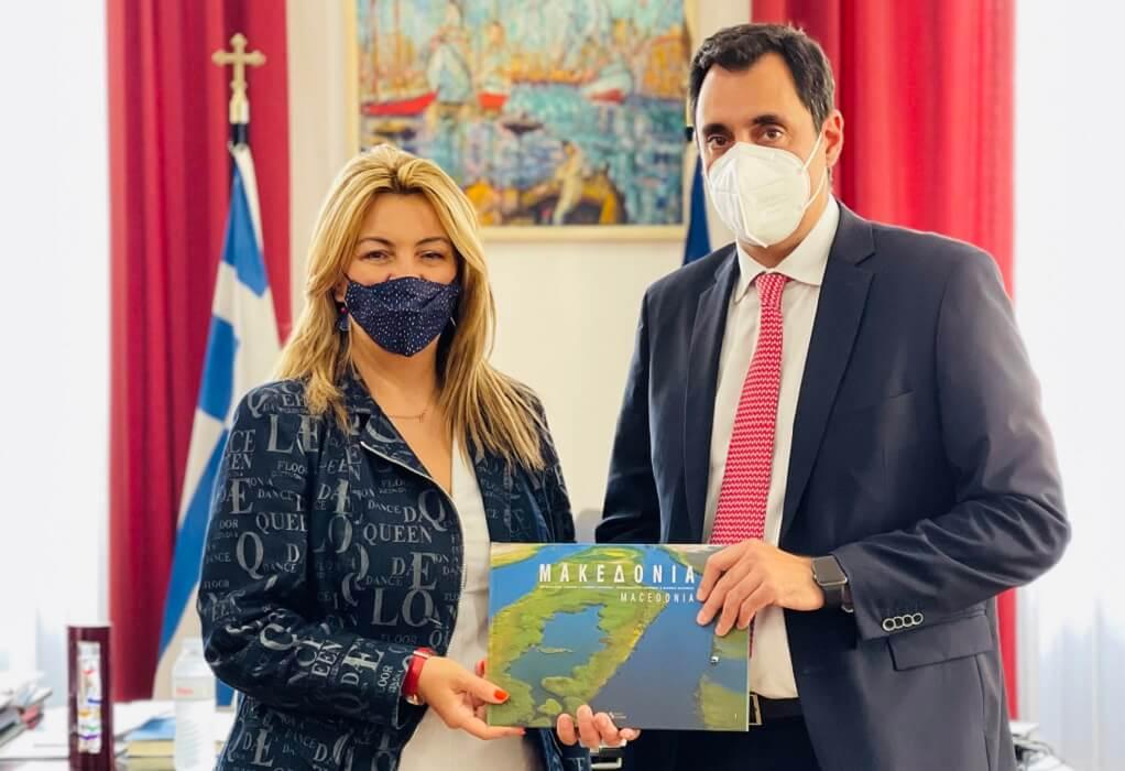 Συνάντηση Αντωνίου-Σμυρλή: Στο επίκεντρο οικονομική διπλωματία, επενδύσεις και εξαγωγές