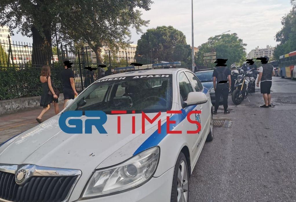 Σε αστυνομικό κλοιό και σήμερα το ΑΠΘ – Συγκεντρωμένα άτομα στο σημείο(ΦΩΤΟ/VIDEO)