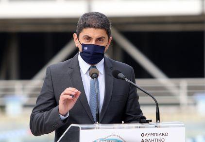 Με τον νέο πρόεδρο της ΕΟΕ συναντήθηκε ο Λευτέρης Αυγενάκης