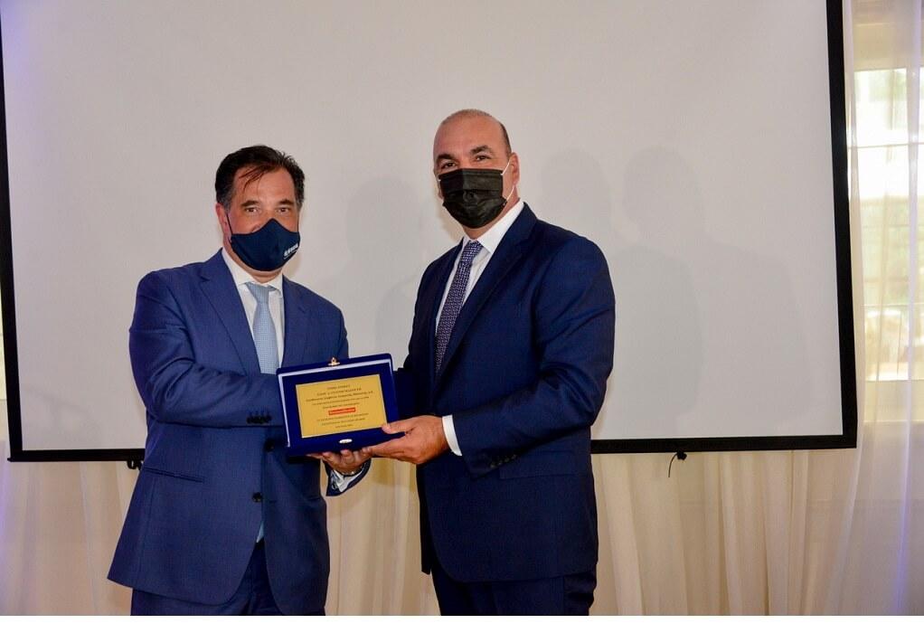 Ο Γιάννης Μασούτης βραβεύτηκε ως Exceptional Manager 2021