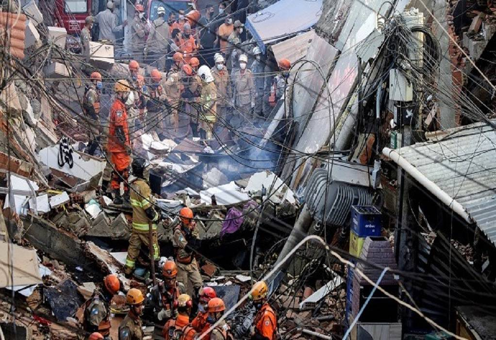 Βραζιλία: Δύο νεκροί μετά την κατάρρευση κτιρίου στο Ρίο
