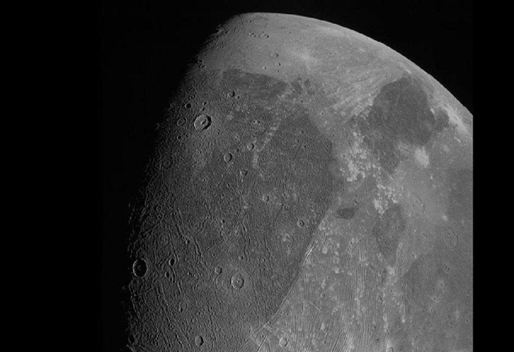 NASA: Οι πρώτες κοντινές φωτογραφίες του Γανυμήδη