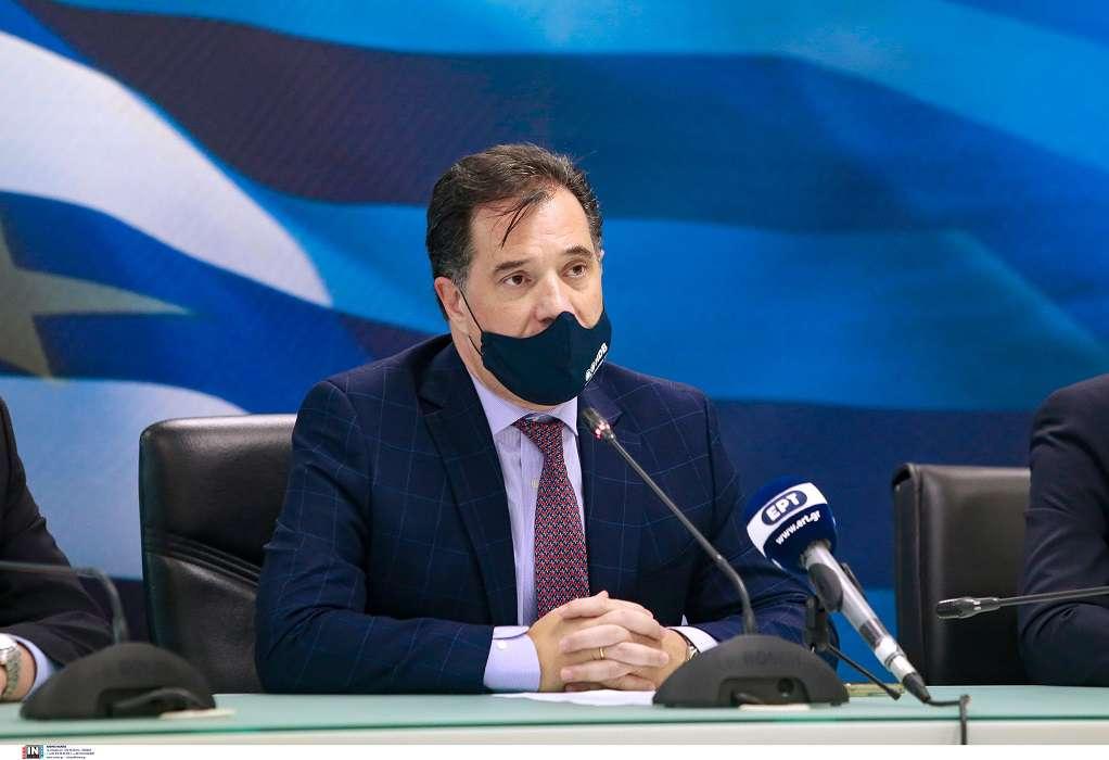 Αδ. Γεωργιάδης: Η βιομηχανική παραγωγή αυξάνεται συνεχώς