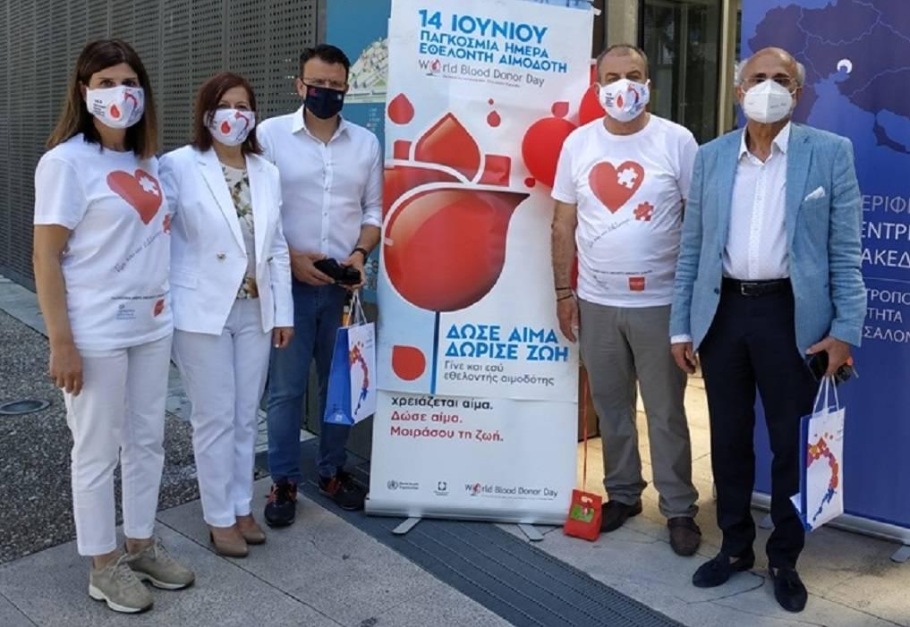 ΠΚΜ: Πάνω από 150 πολίτες ανταποκρίθηκαν στο κάλεσμα για εθελοντική αιμοδοσία