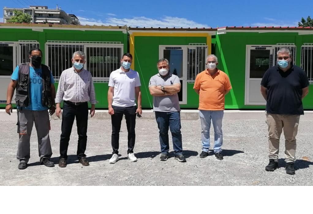 Δήμο Κορδελιού-Ευόσμου: Τοποθετούνται προκατασκευασμένες αίθουσες για την Προσχολική Αγωγή