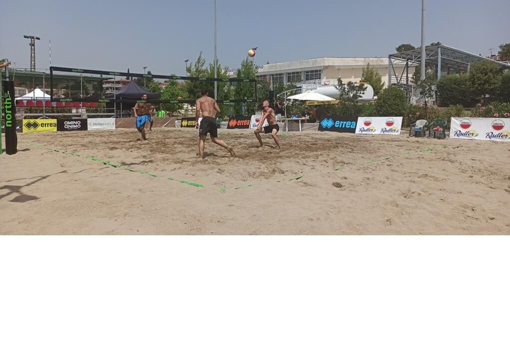 Δ. Ωραιοκάστρου: Άρχισε το τριήμερο «North Area Beach Volley Circuit»
