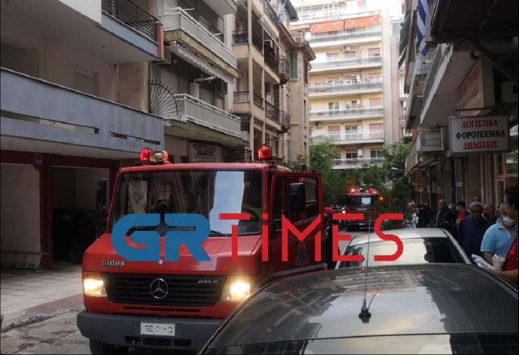 Θεσ/νίκη: Κινητοποίηση πυροσβεστικής για φωτιά σε διαμέρισμα