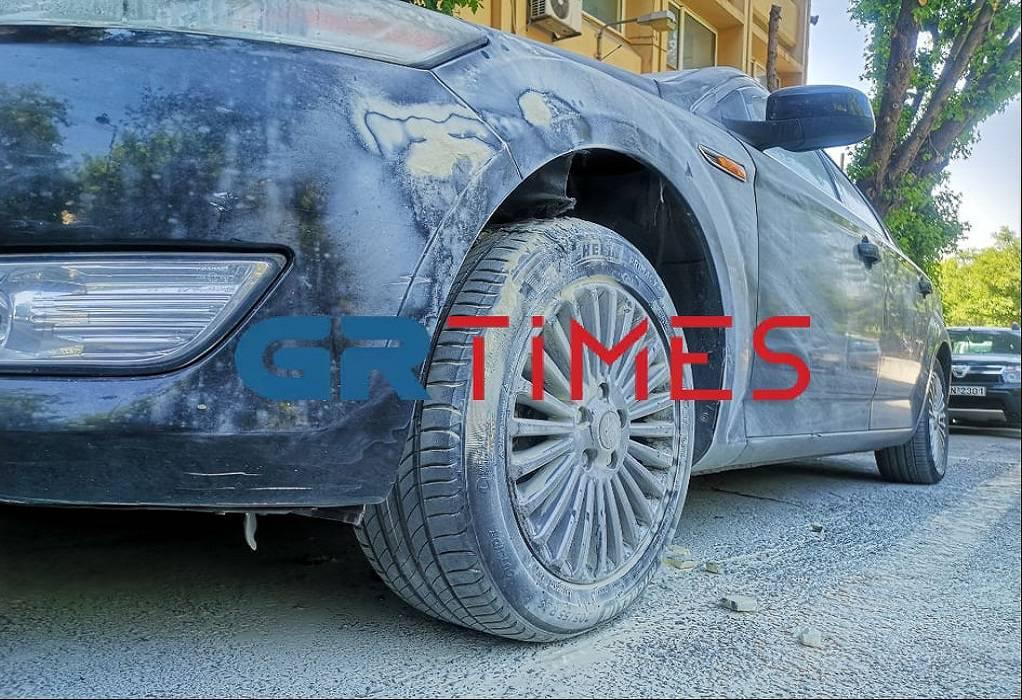 Εμπρησμός στο αυτοκίνητο του προέδρου του ΕΚΘ (VIDEO)