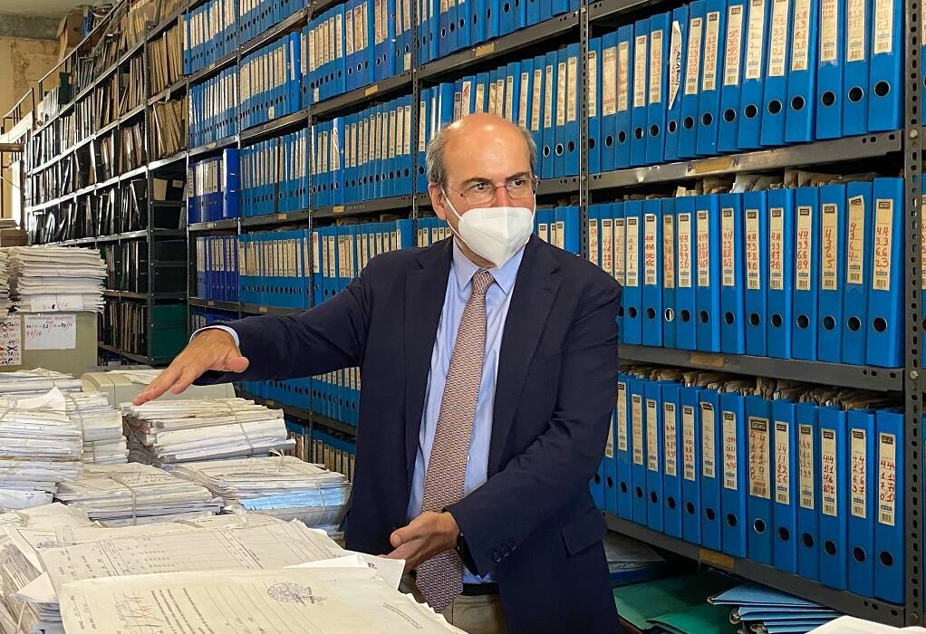 Επίσκεψη του Κωστή Χατζηδάκη στο ΝΑΤ- Άμεση υλοποίηση σχεδίου δράσης