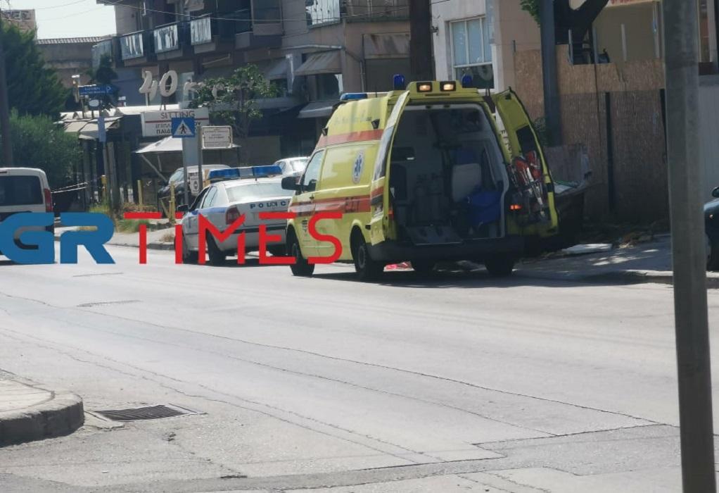 Θεσσαλονίκη: Έπεσε από σκαλωσιά και τραυματίστηκε στο κεφάλι (ΦΩΤΟ)