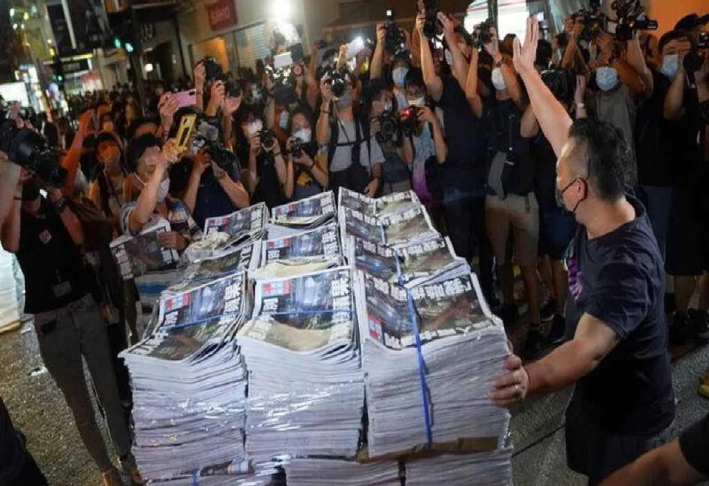 Νέα σύλληψη δημοσιογράφου στο Χόνγκ Κονγκ για λόγους «εθνικής ασφαλείας»