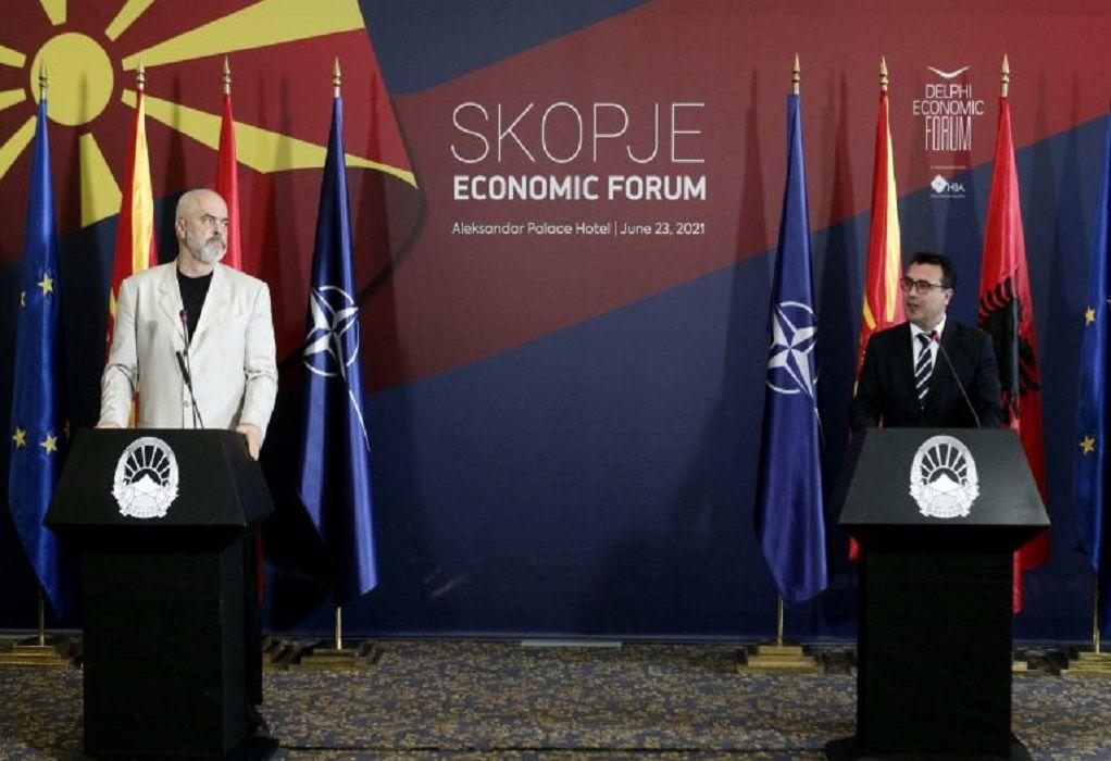 Ζάεφ: Η ένταξη της Βόρειας Μακεδονίας στο ΝΑΤΟ σημαίνει ασφάλεια