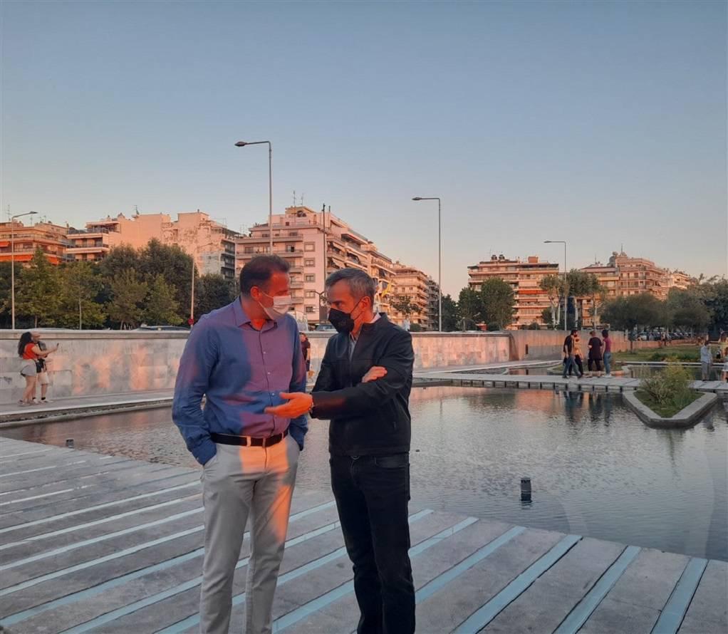 Θεσσαλονίκη: Εντυπωσιακός ο ανακαινισμένος Κήπος του Νερού, φωτογραφία-2