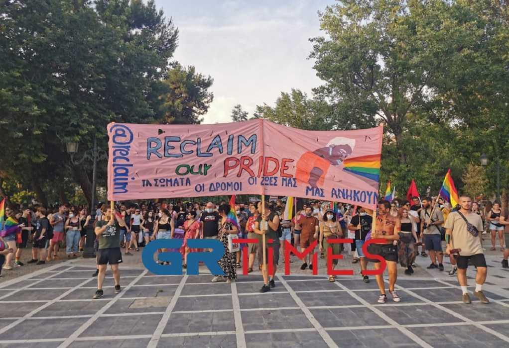 """""""Πολύχρωμη"""" πορεία του 5ου Αυτοοργανωμένου Thessaloniki pride (ΦΩΤΟ+VIDEO)"""