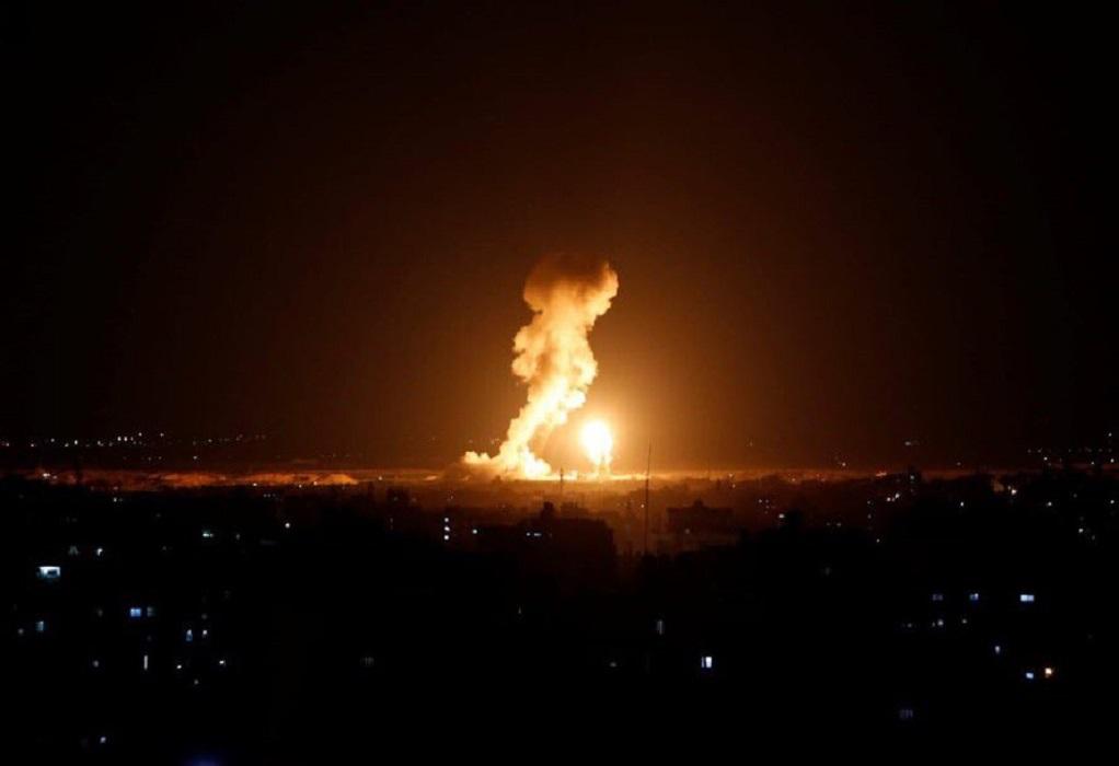 Μεσανατολικό: Αεροπορικά πλήγματα του Ισραήλ στη Λωρίδα της Γάζας (VIDEO)