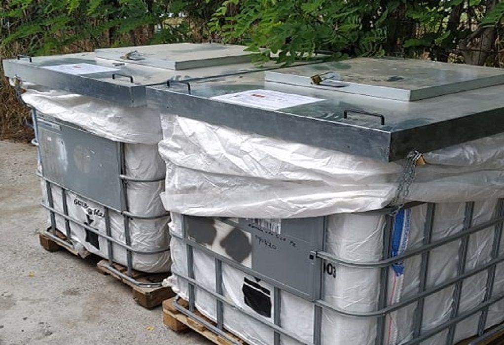 Συσκευασίες φυτοφαρμάκων περισυλλέγει ο δήμος Θέρμης