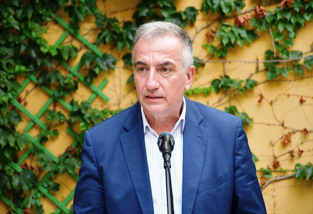 Επίσκεψη Σταύρου Καλαφάτη σήμερα στη Χαλκιδική