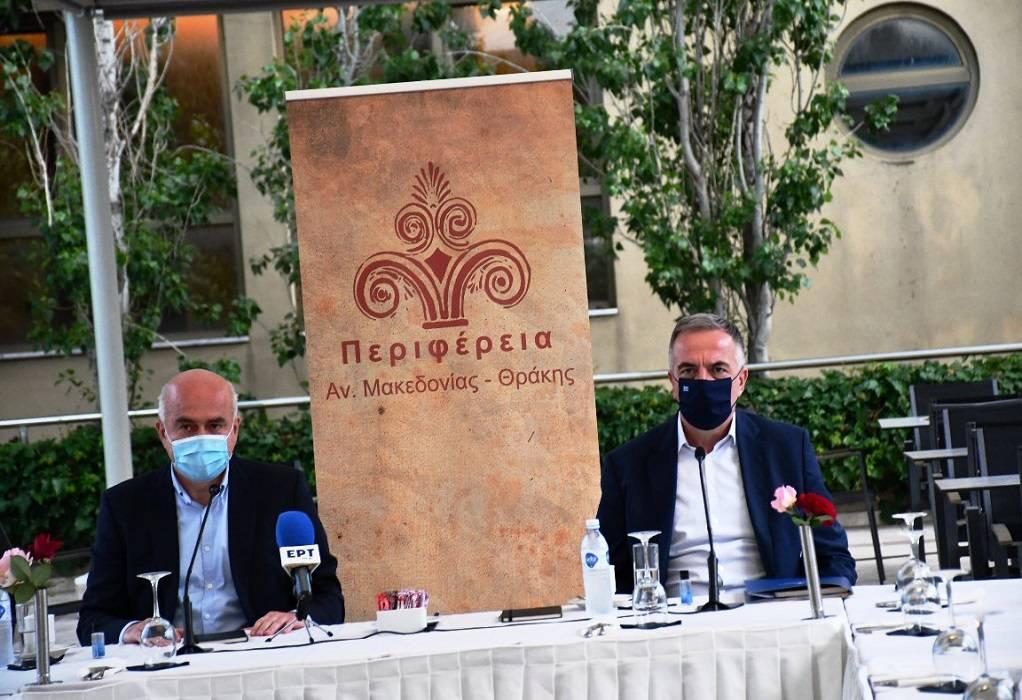 Καλαφάτης-Έβρος: Συσκέψεις με αυτοδιοικητικούς και επιχειρηματικούς φορείς
