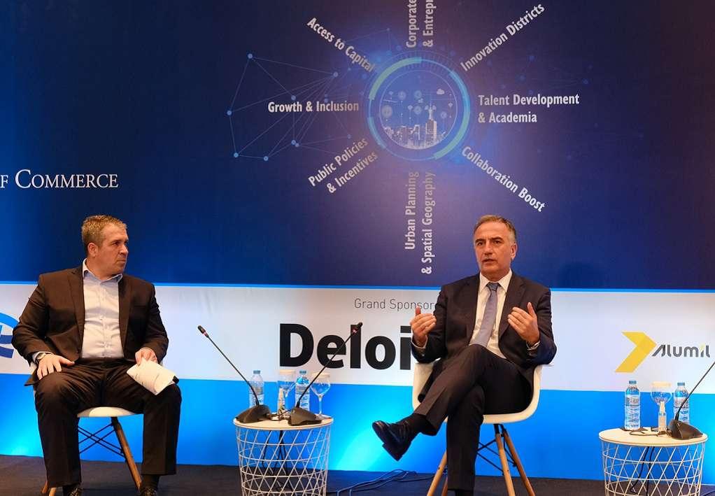 Στ. Καλαφάτης: Προτεραιότητα της κυβέρνησης η ανάπτυξη και η έμφαση στις νέες τεχνολογίες