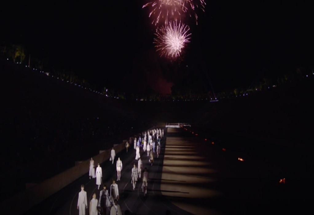 Καλλιμάρμαρο: Εντυπωσιακό το σόου του Dior – Οι λαμπεροί προσκεκλημένοι
