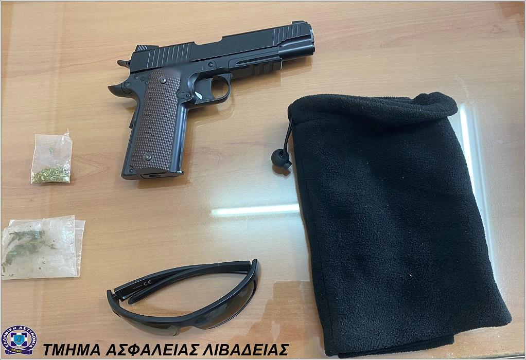 Δίστομο: Επιχείρησε με ψεύτικο πιστόλι να ληστέψει περίπτερο