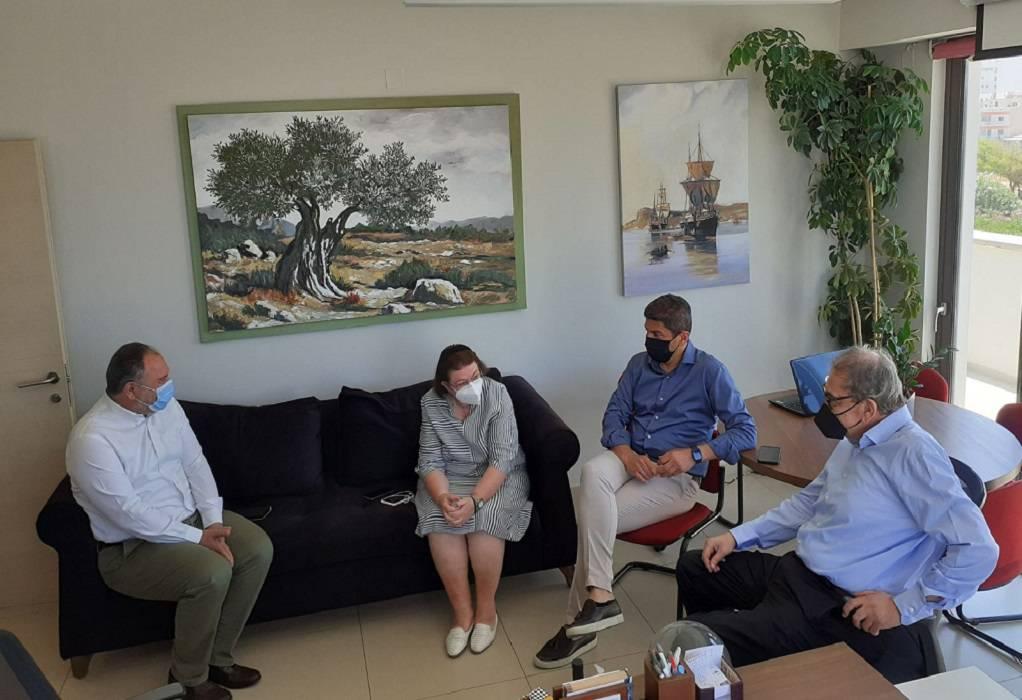Κουράκης: Συνάντηση με Λ. Μενδώνη και Λ. Αυγενάκη