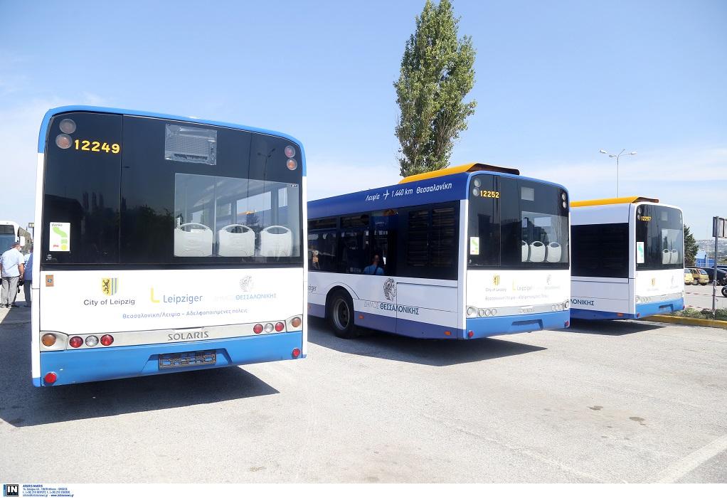 Ο καύσωνας κτύπησε και τα λεωφορεία του ΟΑΣΘ, λιγότερα σε κυκλοφορία
