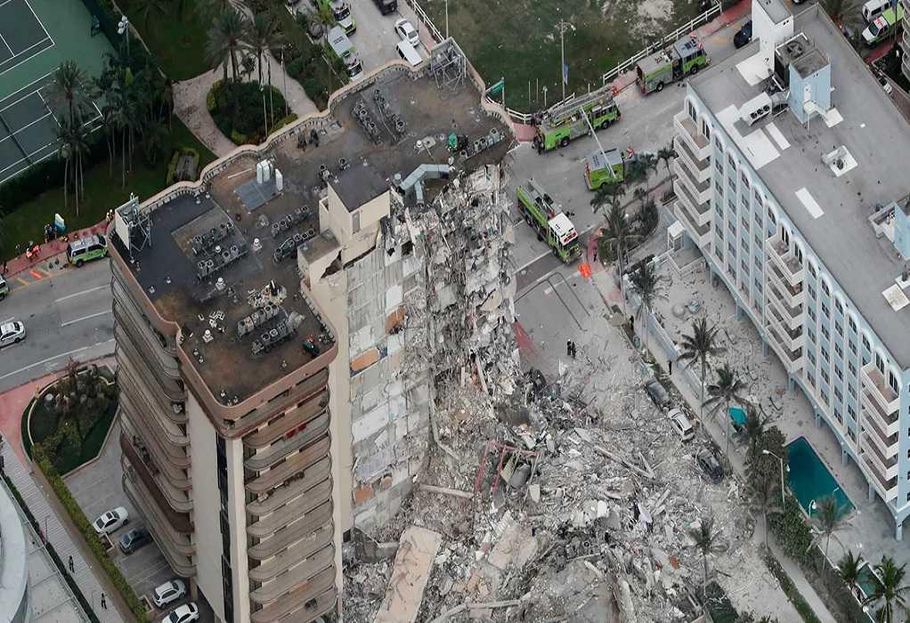 Κατάρρευση κτιρίου στη Φλόριντα: Στους 79 οι νεκροί – 60 παραμένουν αγνοούμενοι