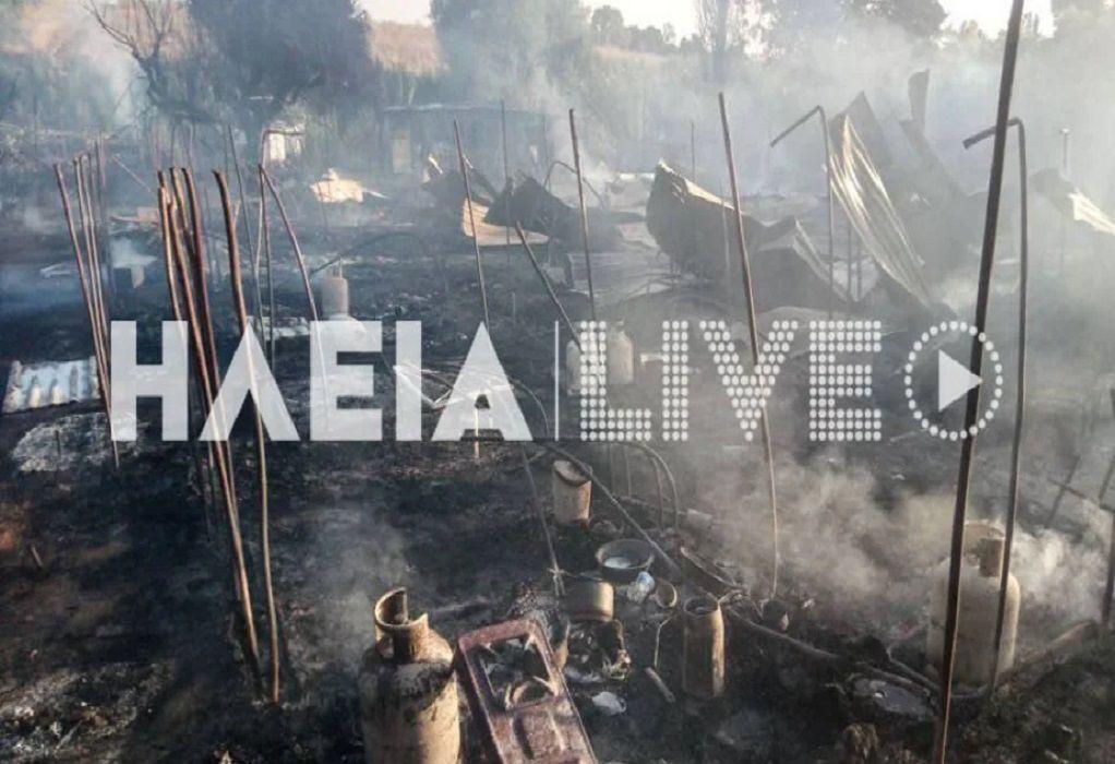 Πύργος: Φωτιά στη Νέα Μανωλάδα – Δεν αναφέρθηκε τραυματισμός