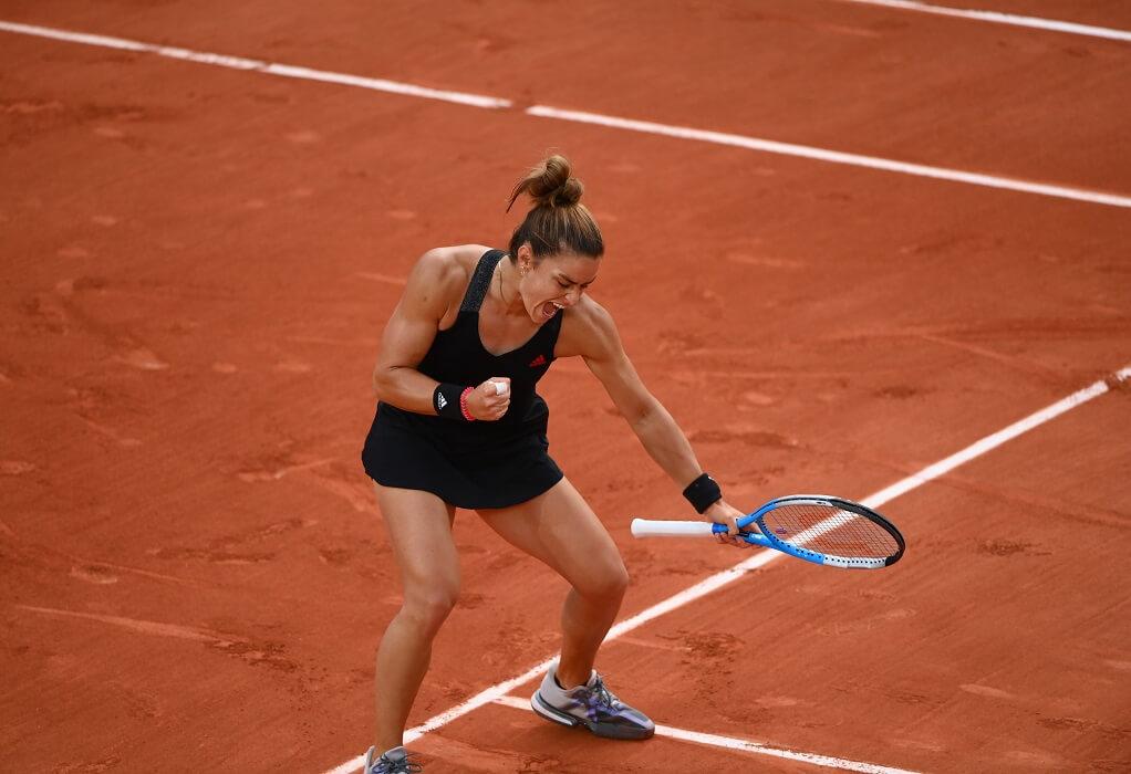 Roland Garros: Στους «8» η Σάκκαρη